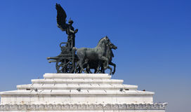 Statue à Rome, Italie Photographie stock