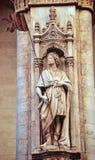 Statue à Sienne Images libres de droits