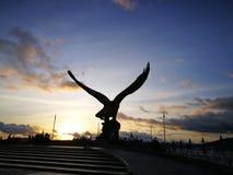 Statue énorme d'aigle Images libres de droits