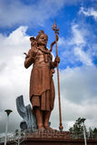 Statue énorme de Lord Shiva en Îles Maurice Images libres de droits