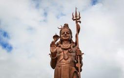 Statue énorme de Lord Shiva en Îles Maurice Photos stock
