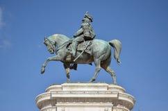 Statue équestre Image libre de droits