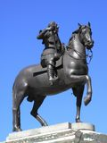 Statue équestre du Roi Charles 1 Images stock