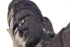 Statue étendue de Bouddha au parc de Bouddha images stock