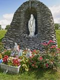 Statue 1 de Lourdes Photos libres de droits