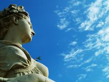 Statue. And blue sky Stock Photo