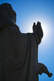 Statue. A oriental statue over the blue sky Stock Image