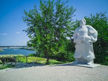 54-Statue Foto de Stock