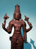 Statue. An ancient indian bronze statue, national museum, New Delhi, India Stock Photography