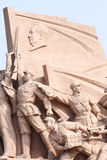 Statue. The statue of Chinese revolution Stock Photo