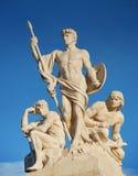 Statue. images libres de droits