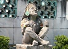 Statue 2010 de Washington Xochipilli Images libres de droits