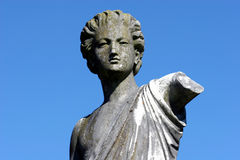Statue. Against blue sky Royalty Free Stock Images