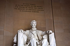 Statue of Abraham Lincoln at Stock Images