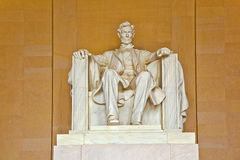 Statue of Abraham Lincoln at Royalty Free Stock Photo