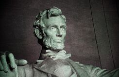 Statue of Abraham Lincoln Royalty Free Stock Photo