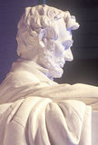 Statue of Abraham Lincoln in Lincoln Memorial Washington D.C. Stock Photo
