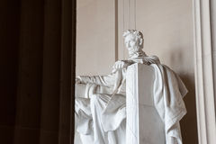 Statue of Abraham Lincoln, Lincoln Memorial Royalty Free Stock Image