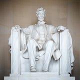 Statue of Abraham Lincoln. Lincoln Memorial, Washington DC Stock Photos