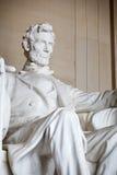Statue of Abraham Lincoln. Lincoln Memorial, Washington DC Stock Photo