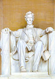 Statue of Abraham Lincoln at Stock Photography