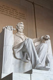 The statue of Abraham Lincoln Royalty Free Stock Image