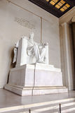 Statue of Abraham Lincoln at Stock Image