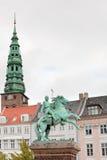 Statue of Absalon in Copenhagen Royalty Free Stock Photo