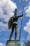 Statue of Achilles. The Greek hero of the Trojan War Royalty Free Stock Image