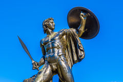 Statue of Achilles. In Hyde Park, London Stock Photos