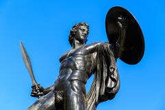 Statue of Achilles Stock Photography