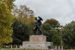 Statue of Achilles at the Hyde Park in London Royalty Free Stock Photos