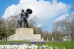 Statue of Achilles in Hyde Park Stock Photo