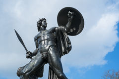 Statue of Achilles in Hyde Park, London Royalty Free Stock Photos