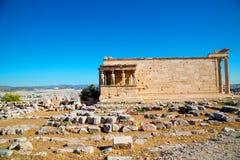 Statue acropolis athens Royalty Free Stock Photo