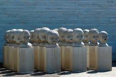 Statue ad Art Museum dell'Estonia Immagine Stock Libera da Diritti