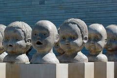 Statue ad Art Museum dell'Estonia Immagini Stock Libere da Diritti