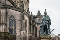 Statue of Adam Smith Royalty Free Stock Image