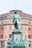 Statue admiral Niels Juel in Copenhagen, Denmark Stock Photos
