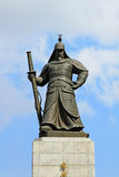 Statue of Admiral Yi Sun-Shin, Seoul, Korea Stock Images