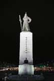 Statue of Admiral Yi Sun-Sin Royalty Free Stock Images