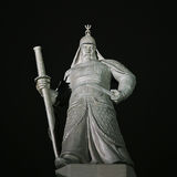 Statue of Admiral Yi Sun-Sin Stock Images
