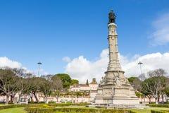 Statue of Afonso de Albuquerqu Stock Image