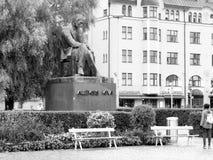 Statue of Aleksis Kivi Stock Photos