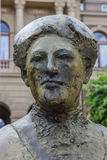 Statue of Aletta Jacobs in front of the Groningen University Royalty Free Stock Images