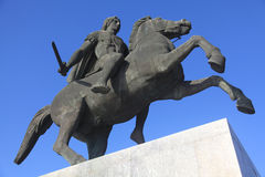 Statue of Alexander the Great Royalty Free Stock Images