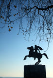 Statue of Alexander the Great Royalty Free Stock Photography