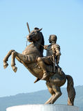 Statue of Alexander the Great Stock Image