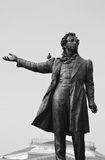 Statue of Alexander Pushkin Stock Photos