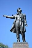 Statue of Alexander Pushkin Royalty Free Stock Photos